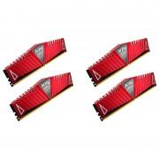 Memorie Adata XPG Z1 Red 32GB DDR4 2400 MHz CL16 Quad Channel Kit