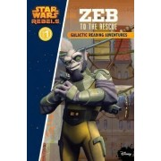 Star Wars Galactic Reading Adventures - Zeb to the Rescue Level 1