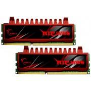Mémoire LONG DIMM DDR3 G.Skill DIMM 8 GB DDR3-1333 Kit F3-10666CL9D-8GBRL, série Ripjaws 8GB CL9 09/09/24 2 barettes