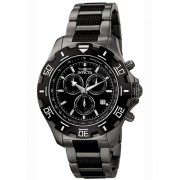 Invicta Watches Specialty Chronograph Two-Tone IP Steel Black Dial - INVICTA-6412 BlackGunmetal