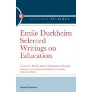 The Evolution of Educational Thought by Emile Durkheim