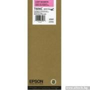 EPSON Light Magenta Inkjet Cartridge for Stylus Pro 4880, 220ml (C13T606C00)