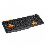 Tastatura OMEGA cu USB OK015O portocaliu 419