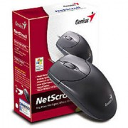 Mouse Genius NetScroll 120 Black USB