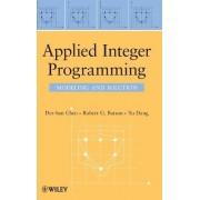 Applied Integer Programming by Der-San Chen