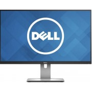 "Monitor IPS LED Dell 27"" U2715H, QHD (2560 x 1440), HDMI, DisplayPort, 8ms GTG, Pivot (Negru)"