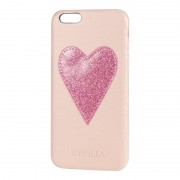 Iphoria iPhone Case mit Herz-Applikation