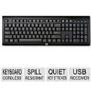 HP K2500 Wireless Keyboard US