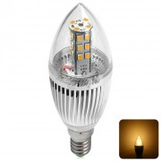 YouOKLight 450LM E14 5W 28 SMD 2835 3000K LED Candle Light.