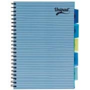Project Book A4, 100 file 60g/mp, cu spirala dubla, coperti PP, PUKKA Unipad - dictando