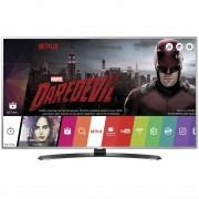 Televizor Smart LED LG 108 cm Ultra HD 43UH668V, WiFi, USB, CI+, Grey