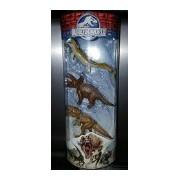 Jurassic World Dinos Mosasaurus, Triceratops & Tyrannosaurus Rex 3 Mini Figure 3-Pack