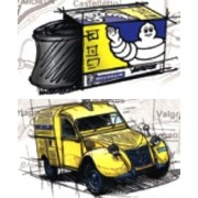 Michelin Collection Tubes CH 12 C 13 ( 125/80 -12 )