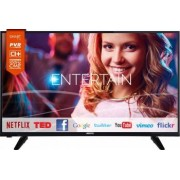 Televizor LED 109 cm Horizon 43HL733F Full HD Smart Tv 5 ani garantie Bonus Set Curatare LCD Serioux