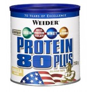 Weider Protein 80 Plus Vanilla 750g