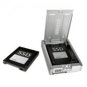 Adaptor Icy Dock MB982SP-1S EZConvert Pro Full Metal 2.5 to 3.5 SATA HDD & SSD Converter, culoare argintie
