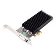 NVIDIA Quadro NVS 300 by PNY - Carte graphique - Quadro NVS 300 - 512 Mo DDR3 - PCIe 2.0 faible encombrement - DisplayPort - Pour la vente au détail