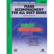 Piano Accompaniment for All Duet Books by Robert Girlamo