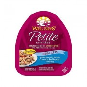 Wellness Petite Entrees Mini-Filets with Chicken, Carrots & Red Peppers Wet Dog Food, 3-oz, 24 ct