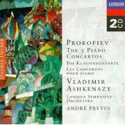 Vladimir Aschenazy - Prokofiev: The Five Piano Concertos (2CD)