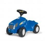 Rolly Minitrac New Holland T6010 lábbal hajtós mini traktor