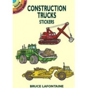Construction Trucks Stickers by LaFontaine