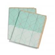 Hay - S&B Colour Cloth Haushaltstuch, 2er-Set, nude