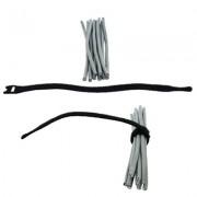 Accesoriu pentru rack: Xcab VLC-1320, 5 bride x 20 cm cu arici pentru organizare cabluri rack