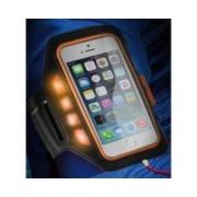 KSix Brassard de protection pour smartphone avec témoins LED