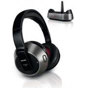 Casti Stereo Philips SHC8535, Wireless (Negru)