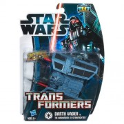Star Wars Transformers Darth Vader to Tie Advanced X1 Starfighter