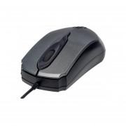 Mouse Optico Usb Edge Alambrico Gris
