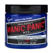 HIGH VOLTAGE CLASSIC SEMI-PERMANENT HAIR COLOUR (Bad Boy Blue) (4oz) 118ml