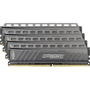 Ballistix Tactical Kit Memoria RAM DDR4 da 16 GB (4 GBx4), 2666 MT/s (PC4-21300), MM 288-Pin - BLT4C4G4D26AFTA