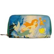 Disney The Little Mermaid Ariel Zip-Around Billetera