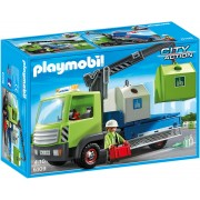 Playmobil City Action - Cleaning, Camion de sortare a sticlei