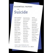 Essential Papers on Suicide by John T. Maltsberger