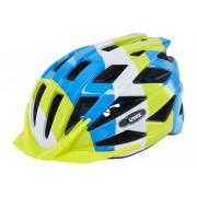 UVEX air wing Kask Dzieci zielony/niebieski Kaski rowerowe
