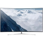 "Televizor LED Samsung 165 cm (65"") UE65KS9002T, Ultra HD 4K, Smart TV, WiFi, Ecran Curbat, CI+, Model 2016 + Lantisor placat cu aur si argint + Cartela SIM Orange PrePay, 6 euro credit, 4 GB internet 4G, 2,000 minute nationale si internationale fix sau SM"