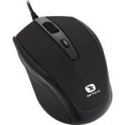 Mouse Laptop Serioux Pastel 3300 1600DPI Optic USB Black