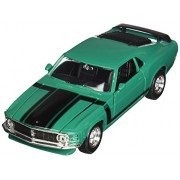 Maisto 1970 Ford Mustang Boss 302 Hard Top 1/24 Scale Diecast Model Car Green