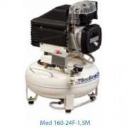 kompresor dentálny, mediciísky a laboratorny Med 160-24F-1,5M
