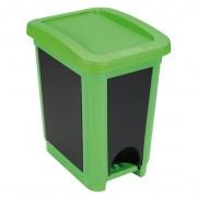 Heidrun műanyag pedálos szemetes 20 literes - 401493
