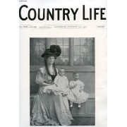 Country Life Illustrated, Vol. Xxii, N° 563, Oct. 1907 (Contents: Our Portrait Illustration: Viscountess Dalrymple And Her Children. The Price Of Wheat. Country Notes. English Sellers At ...