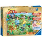 Ravensburger What If Open Day In The Garden Puzzle (1000 Pezzi)