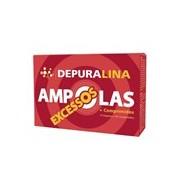 Ampolas e comprimidos excessos acumulados 14ampolas+84comprimindos - Depuralina