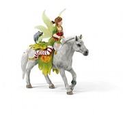 Schleich - Figura Marween en vestido festivo, montada (70517)