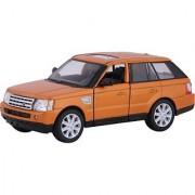 Baby Steps Kinsmart Die-Cast Metal Range Rover Sport Orange (Brown)