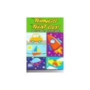 Things that Go Giant Coloring and Activity Book