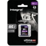 Card de Memorie Integral UltimaPro SDHC 32GB Class10 45MBps